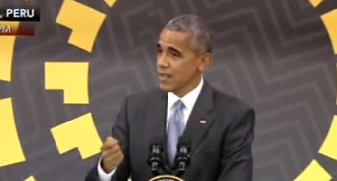 Obama Blames 'Geography' for Democrats' Terrible Election
