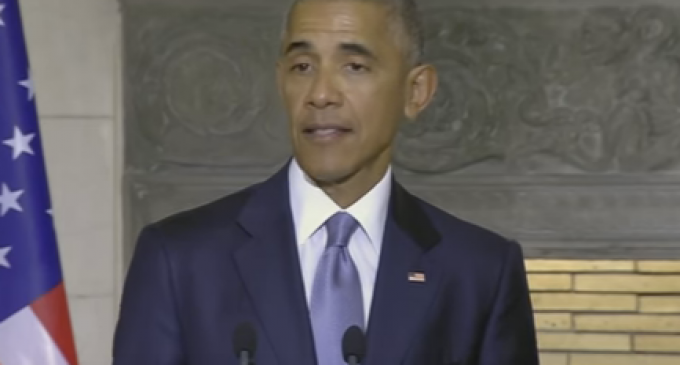 """Obama: The Rise of a """"Crude Sort of Nationalism"""" in America Will Cause Civil War, WWIII"""