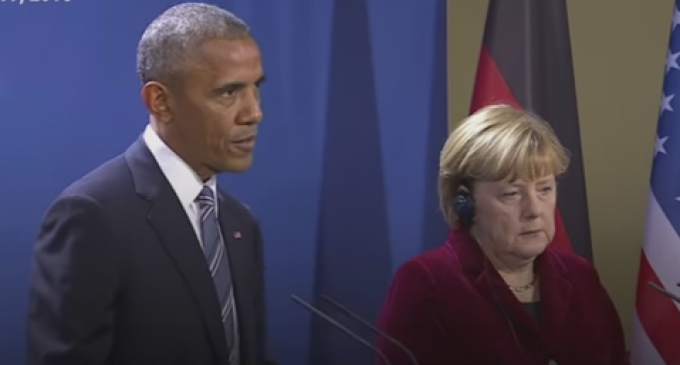 Obama and Merkel: We Must Censor the Internet to Protect People from 'Disruptive Technological Forces'