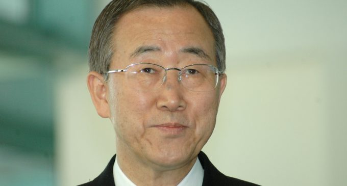 UN Chief to Drop the Ball in Times Square
