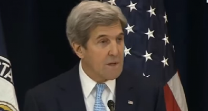 """Kerry: """"Israel can either be Jewish or it can be democratic, but it cannot be both"""""""