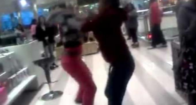 Brawls Erupt in Malls Across America