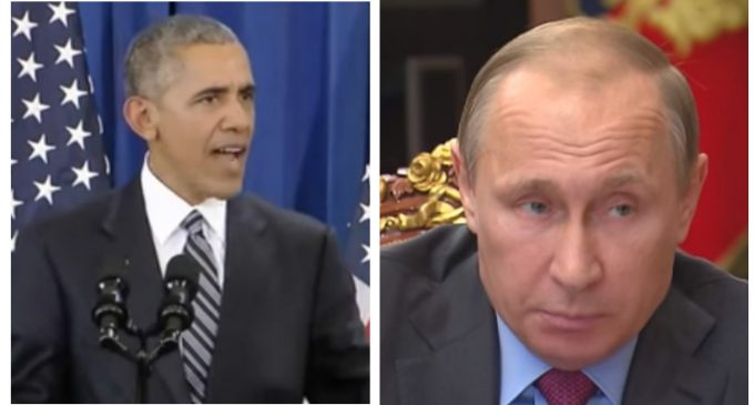Putin Takes the High Road in Flap Over Obama's Expulsion of Russian Diplomats