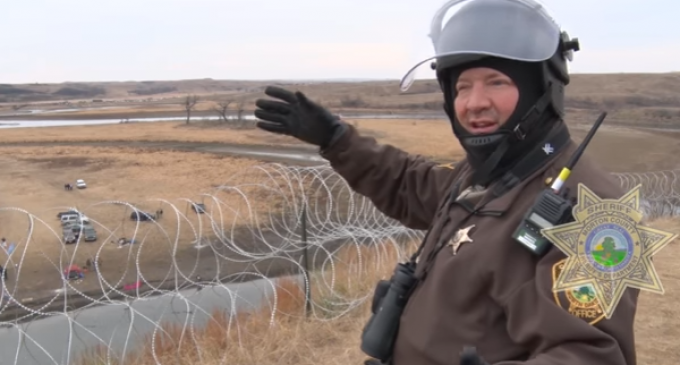 Law Enforcement Imposes Blockade to Starve Out Standing Rock Protestors