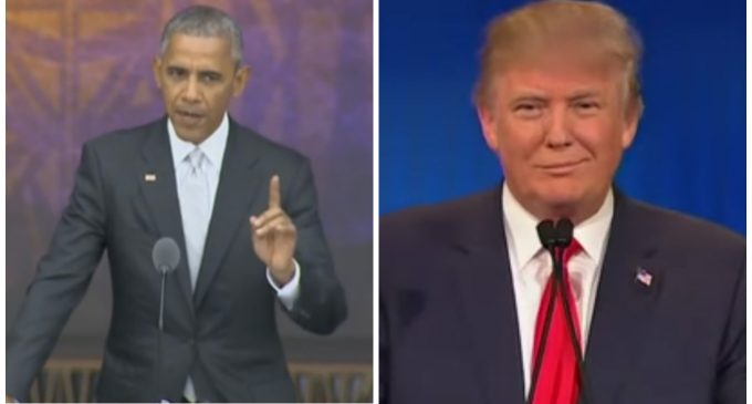 Obama Raises Money To Fight Trump Administration