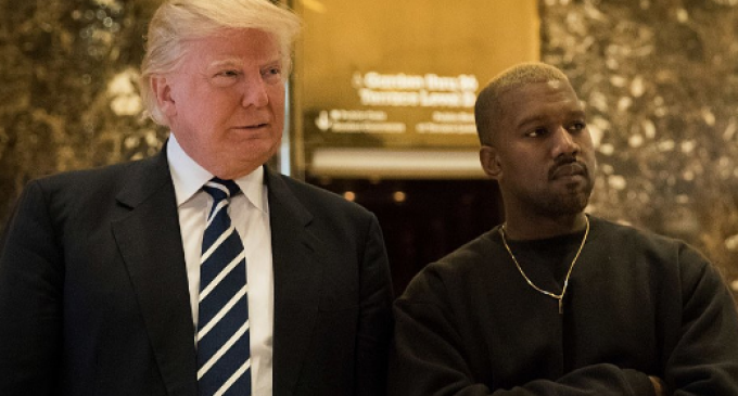 Donald Trump Holds Surprise Meeting with Kanye West