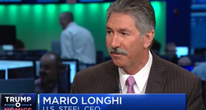 The Trump Effect: US Steel CEO Considers Rehiring 10,000 Employees