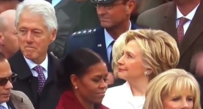 Bill Clinton Allegedly Oogles Ivanka Trump at Inauguration, Gets Busted by Hillary