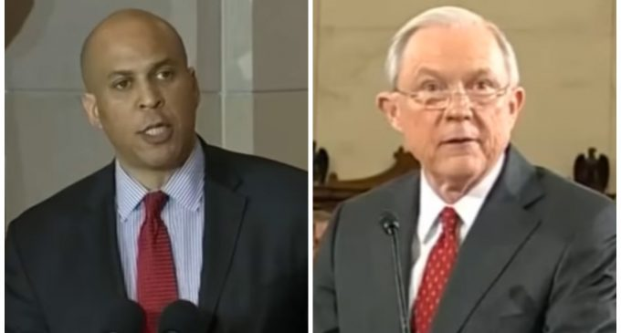 "Cory Booker to Testify Against Jeff Sessions After Being ""Honored"" to Work With Him on Civil Rights"