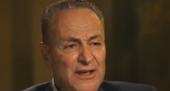 Chuck Schumer on Trump's Immigration Plan: 'Tears are Running Down The Cheeks of the Statue of Liberty'