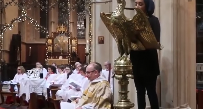 Koran Passage Denying Jesus was Son of God Sung at Cathedral Service