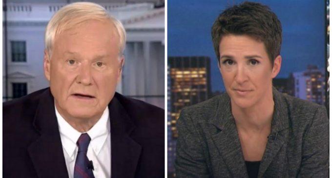 "MSNBC Calls Trump's Inauguration Speech ""Dark"", ""Hitlerian"""