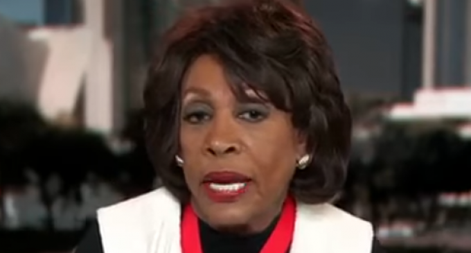 Maxine Waters: Impeach Trump for Collaborating with Russians to Devise 'Crooked Hillary' Nickname