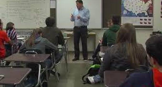 Teacher Won't Let Students Watch Trump Inauguration Speech