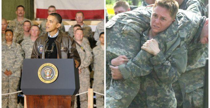 obama women military