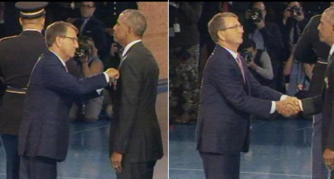 Obama Admin Awards Obama Medal for 'Distinguished Public Service'