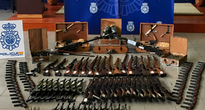 Police Intercept 12,000 Weapons Being Sold to Islamic Terrorists by Spanish Gang