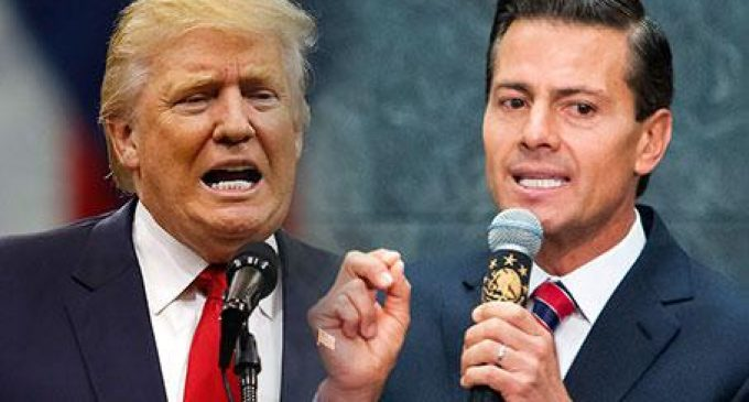 """Mexican President """"Demands"""" Trump """"Respect"""" His Country"""