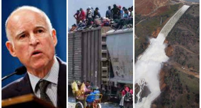 Gov. Brown Spends $25 Billion Annually on Illegal Immigrants, Warned About Oroville Dam 12 Years Ago