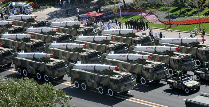 china ballistic missiles