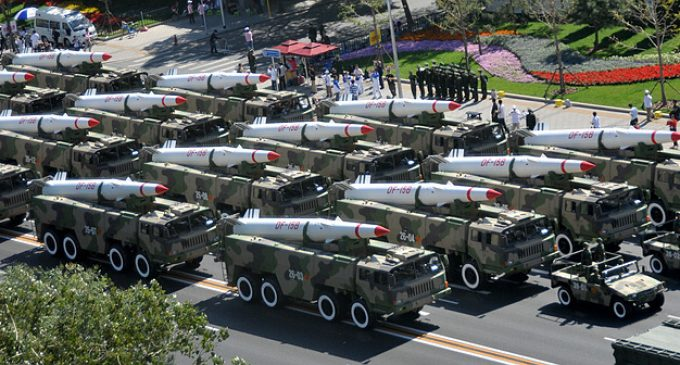 New Report: China Preparing for Preemptive Strike on US Military Bases