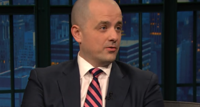 Evan McMullin Asks the CIA to Resist Trump, Calls Him a 'Domestic Enemy'