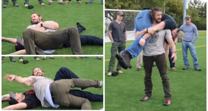 Carrying the Injured: How to Perform the Fireman's Roll