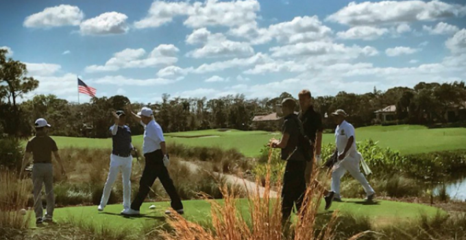 trump golf japanese