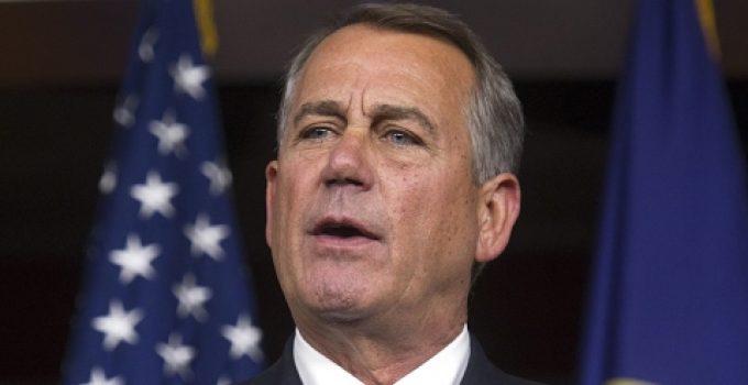 "John Boehner: Obamacare Repeal ""Not Going to Happen"""