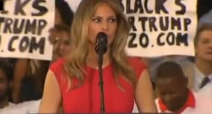 Liberal Commentators Attack Melania Trump For Reciting Lord's Prayer