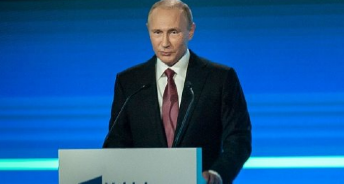 """Putin: """"The Powers That Be"""" Continue to """"Churn Out Threats, Imaginary and Mythical"""" Threats to Control the World"""