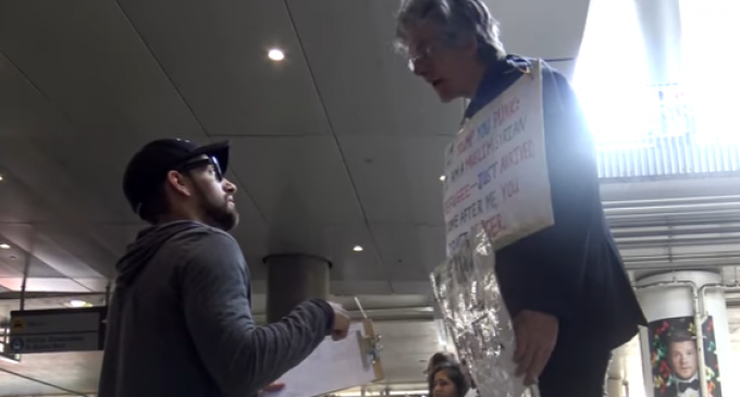 Social Experiment: Leftists Protesting Trump Ban Asked to Shelter Refugees in Their Home
