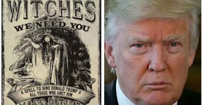 trump spell witches