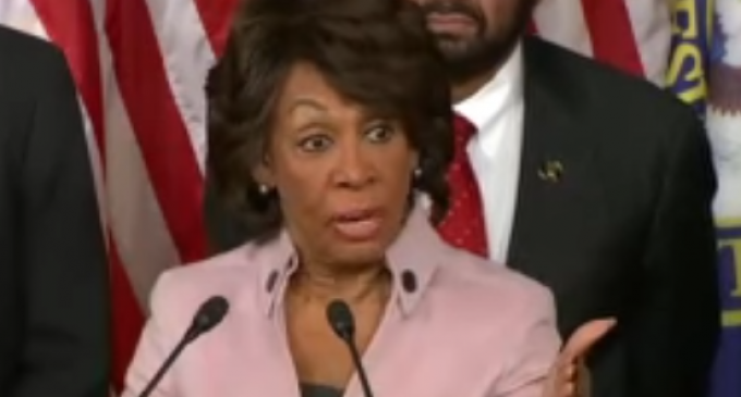 Rep. Waters: Trump Supports Putin Even Though He is Invading Korea