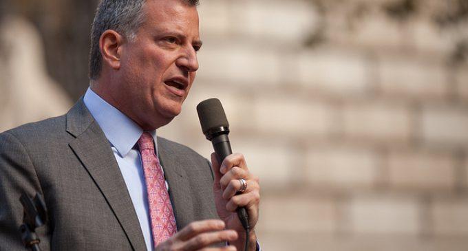 Mayor de Blasio: Migrants Make Our City Safer