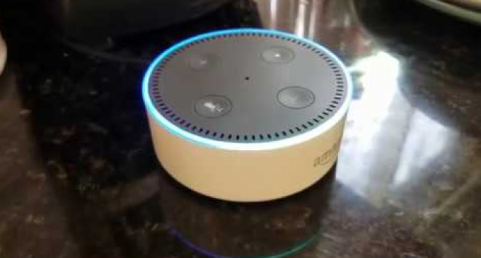 Amazon Echo Cannot Answer if it is Connected to the CIA