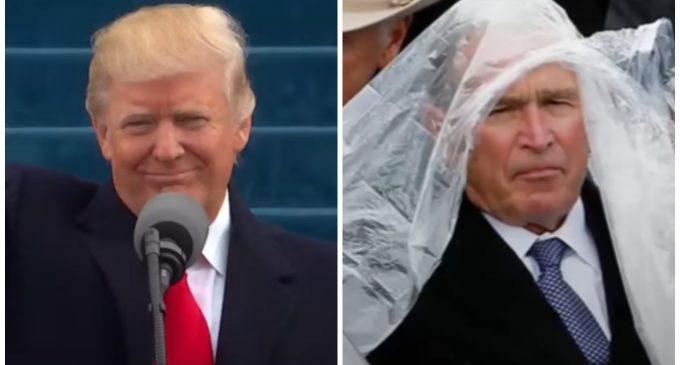 George W. Bush: Trump's Inauguration was 'Some Weird Sh*t'