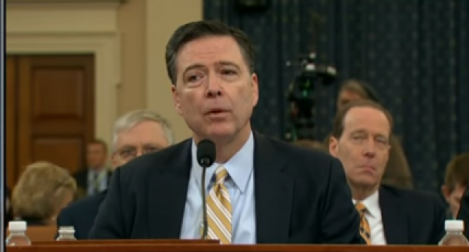 "Comey Under Oath: Trump Didn't Tell FBI to Stop Investigation, ""It's Not Happened"""