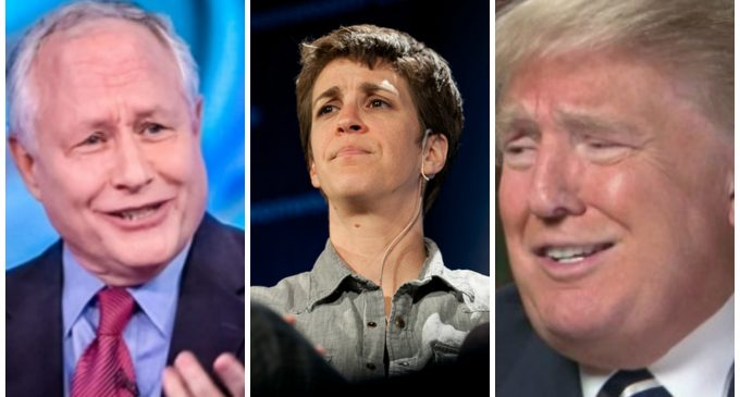 Bill Kristol Calls Rachel Maddow a 'Double Agent' Working for Trump