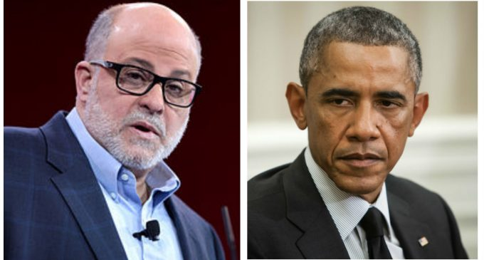 Mark Levin Calls on Congress to Investigate Obama's 'Silent Coup' Against President Trump