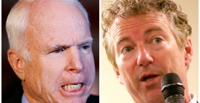 mccain rand paul