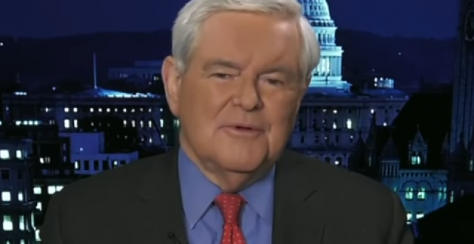 Newt Gingrich: Trump Deceived on Healthcare Bill, Speaker Ryan at a 'Turning Point'