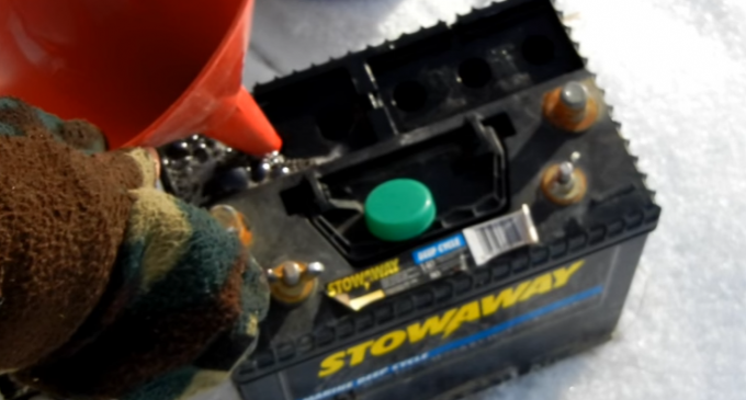 Breathe Life Back Into a 12v Car Battery