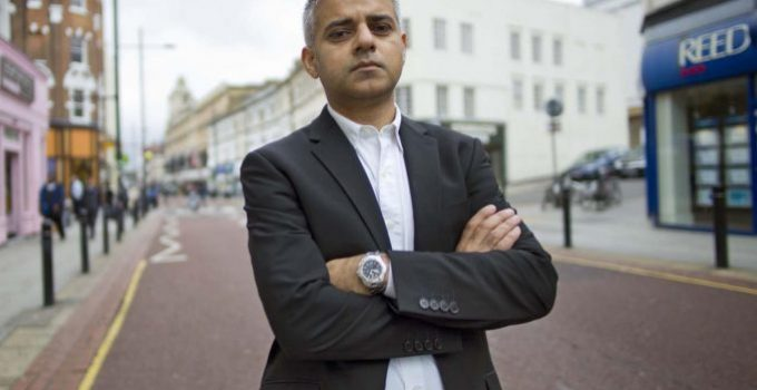 sadiq-khan london mayor
