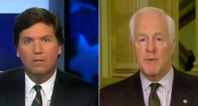 Texas Senator John Cornyn: Trump Voters Don't Want a Wall