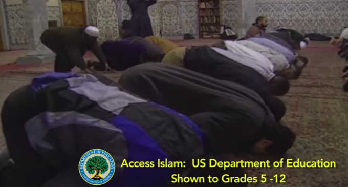 """""""Letter of Demand"""" Sent to U.S. DOE to Cease Islamic Education Program for National Public Schools"""