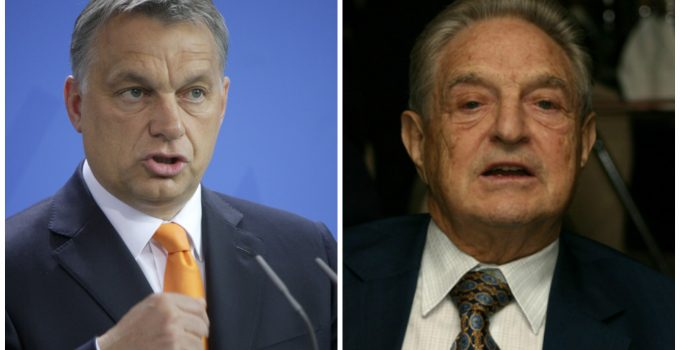 Hungarian Prime Minister Viktor Orbán george soros