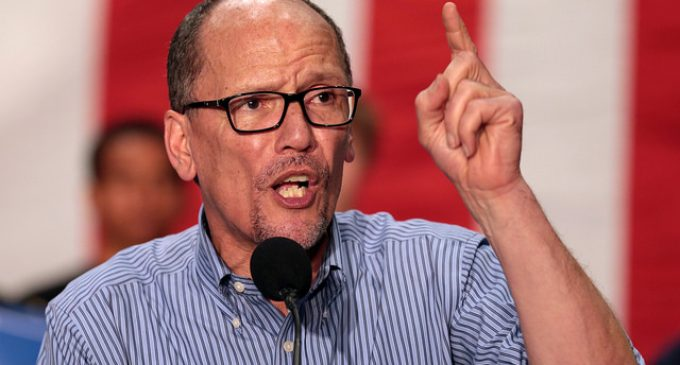 DNC Chairmain Declares Pro-Lifers Are Not Welcome as Democrats