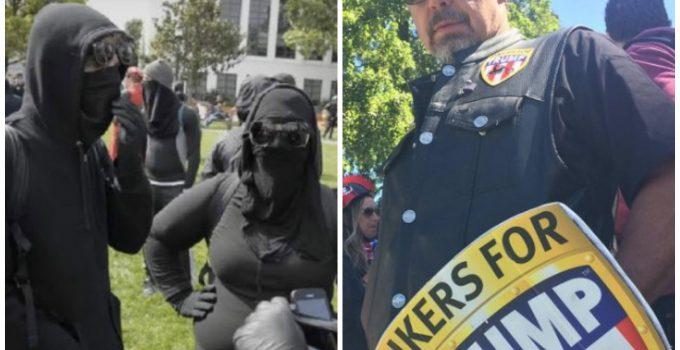 antifa bikers berkeley
