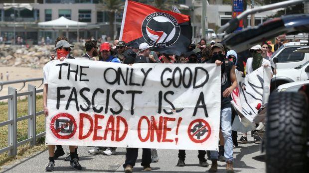 antifa dead fascist